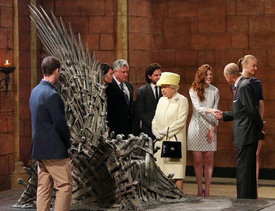 Jon Snow and Cersei Lannister Chat Up Queen Elizabeth