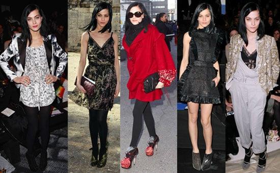 Photos of Leigh Lezark at 2010 Fall Paris Fashion Week