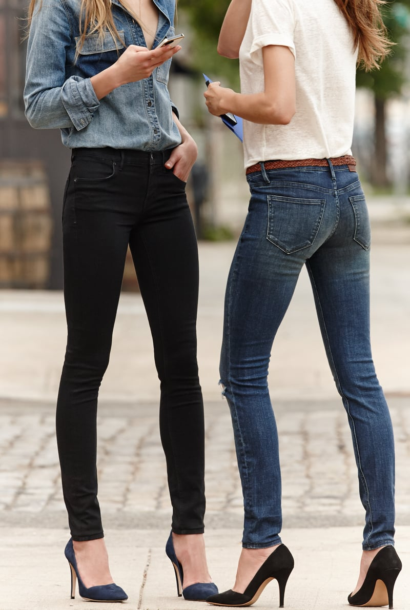 We love a skinny that's not too skintight, allowing for a comfortable everything.