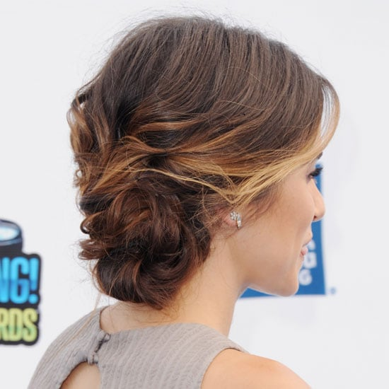 Nikki Reed's Texturized Updo