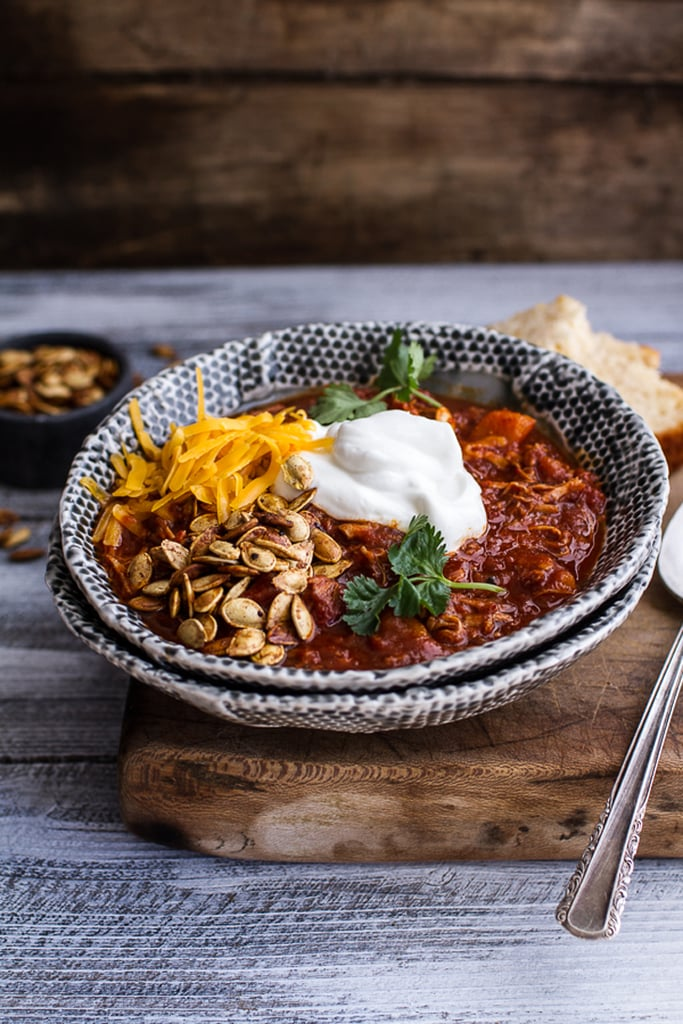 Slow-Cooker Chipotle Pulled-Pork Chili