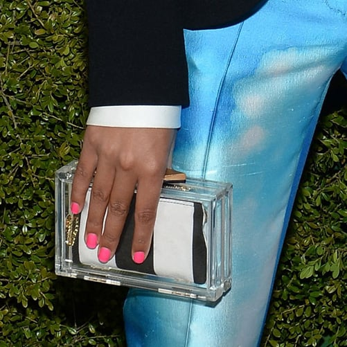 Lucite Clutches Are (Clearly) Having a Red Carpet Moment!