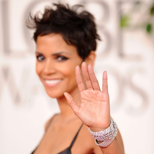 Manicures at the Golden Globes in 2011