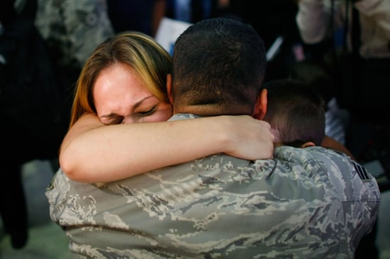 Pictures of Troops Coming Home