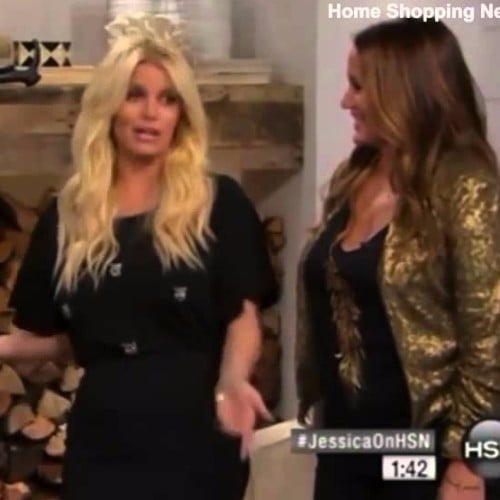 Jessica Simpson Slurs Her Words on HSN Video