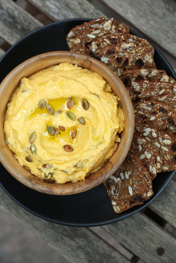 Pumpkin Goat Cheese Dip