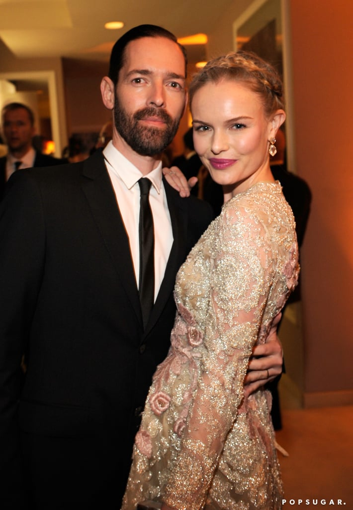 Kate Bosworth and fiancé Michael Polish attended Vanity Fair's Oscar after-party together.