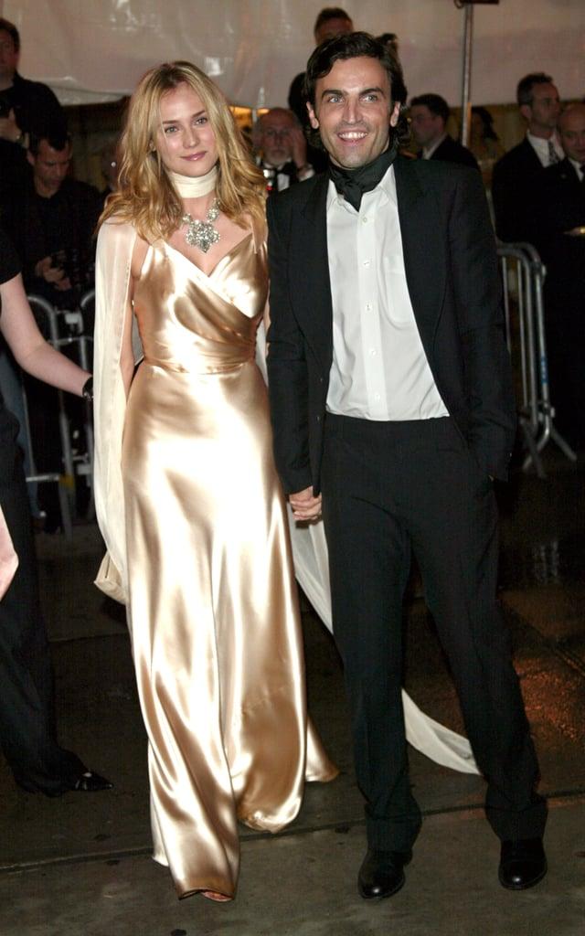 Diane Kruger and Nicolas Ghesquière — 2004
