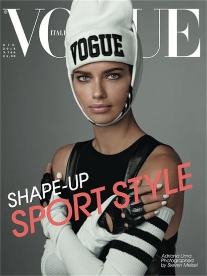 Vogue Italia Gave Adriana Lima a Sporty Toothache