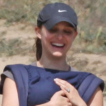 Natalie Portman Hiking With Aleph Millepied Video