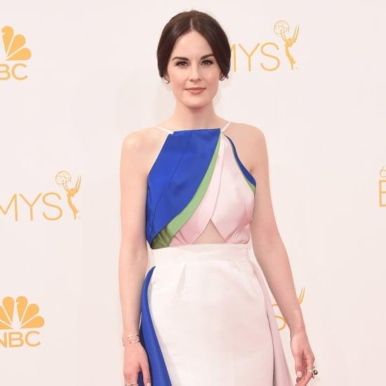 Michelle Dockery's Rosie Assoulin Emmys Dress Pictures