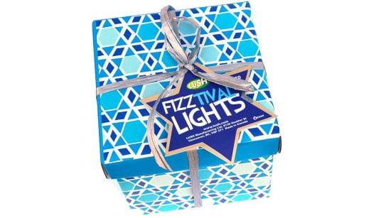 Lush's New Hanukkah Fizztival of Lights Gift Set