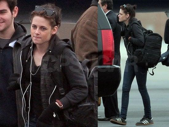 Photos of Kristen Arriving in LA