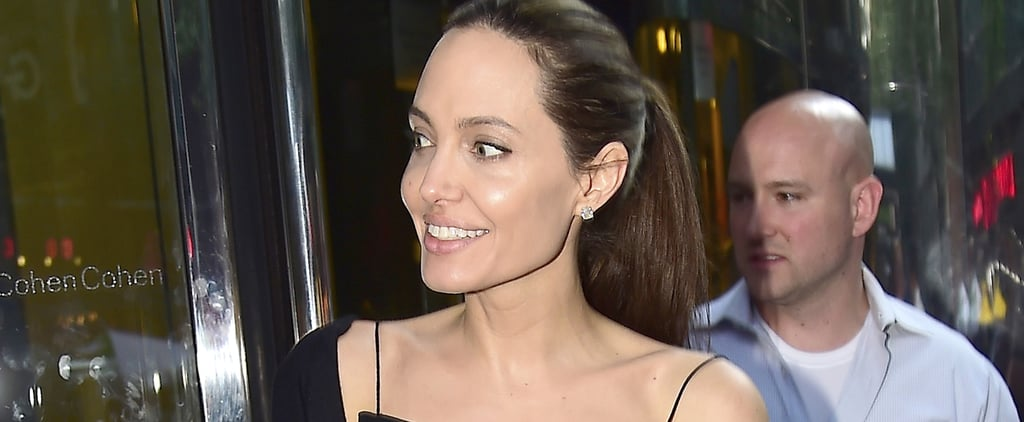 Here's What's So Special About Angelina Jolie's Date Night Look