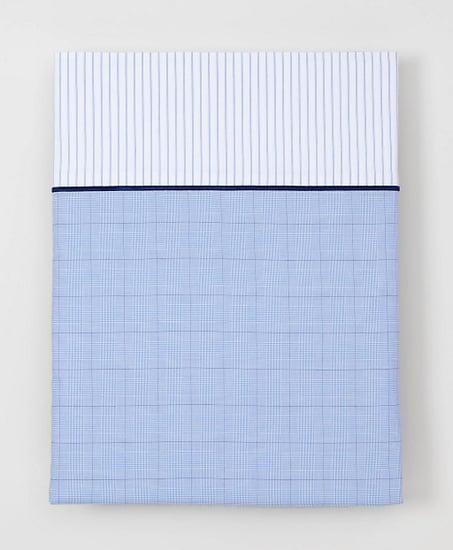 Glen Plaid Full Flat Sheet ($148)
