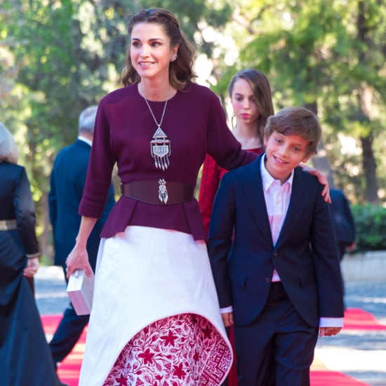 Queen Rania's Independence Day Dress 2016