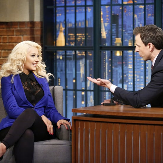 Christina Aguilera's Sex and the City Impression Is Crazily Spot-On
