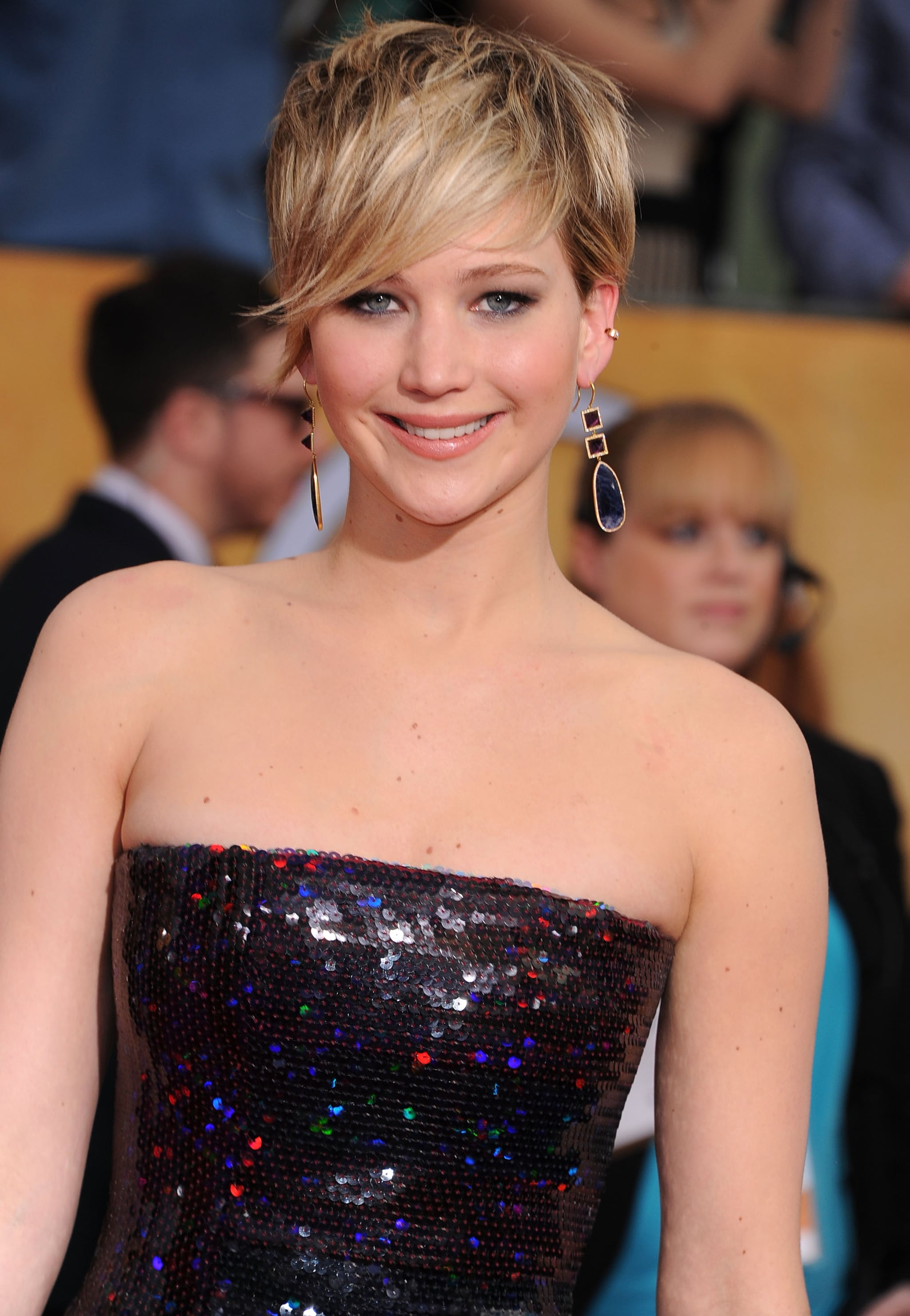 Jennifer Lawrence's Grown-Out Pixie