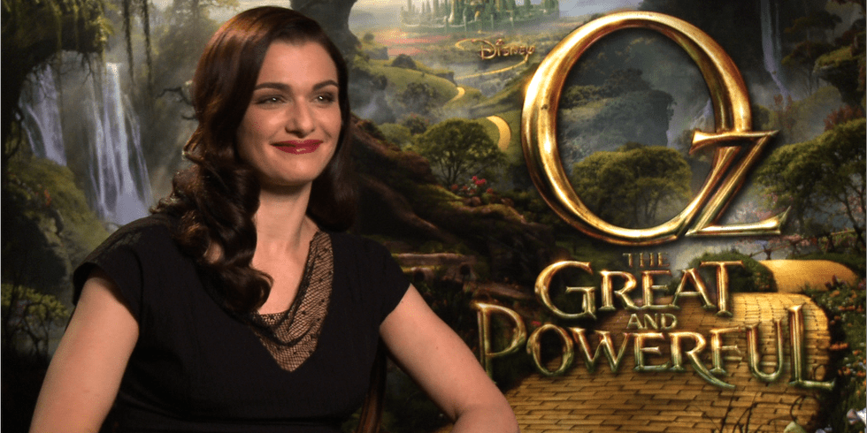 """Rachel Weisz on Tapping Into Her """"Inner Badness"""" For Oz the Great and Powerful"""
