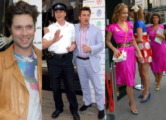 Rufus Wainwright And John Barrowman Attend JC Castelbajac Opening, Tara Palmer-Tomkinson Wore The Same Dress As Another Guest