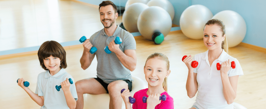 Watch How This Family Makes Working Out a Family Affair!