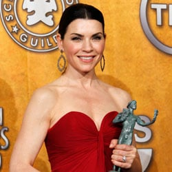 Julianna Margulies Press Room Quotes For Winning 2011 SAG Award For The Good Wife 2011-01-30 18:43:31