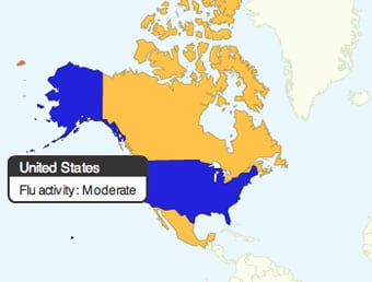 Google.org's Flu Trends Tracks Worldwide Flu-Related Search Traffic