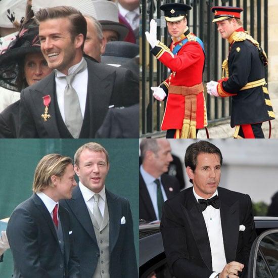 Slideshow of Hot Guys at the Royal Wedding