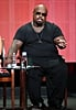 CeeLo Green spoke on stage for The Voice.