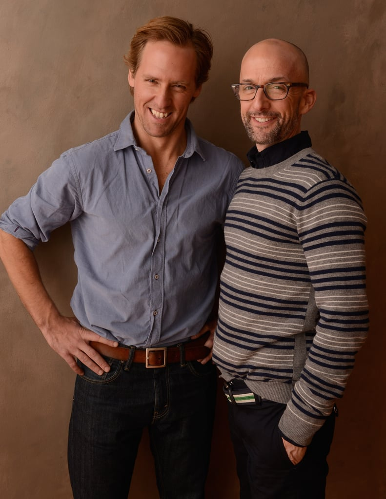 The Way, Way Back directors, writers, and actors Nat Faxon and Jim Rash were well-dressed promoting the film at Sundance.
