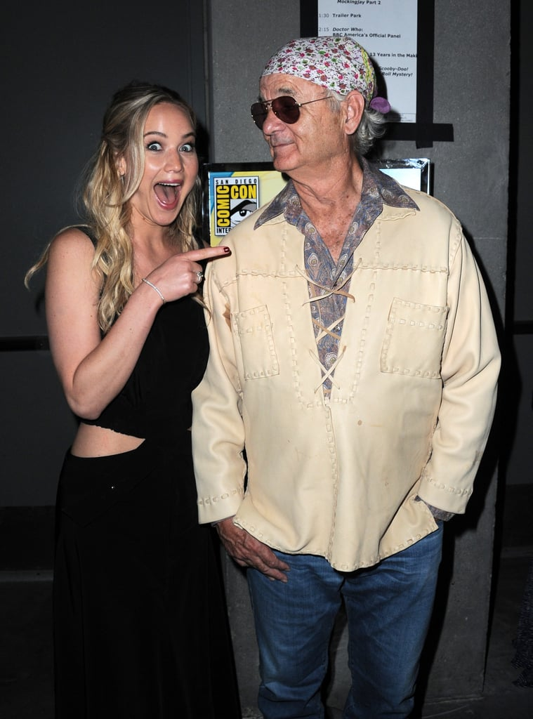 When She Made This Face Next to Bill Murray