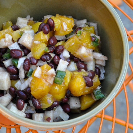 Simple Mango and Black Bean Salsa Recipe