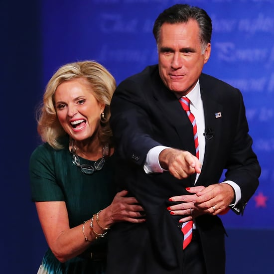 Michelle Obama and Ann Romney at Last Presidential Debate