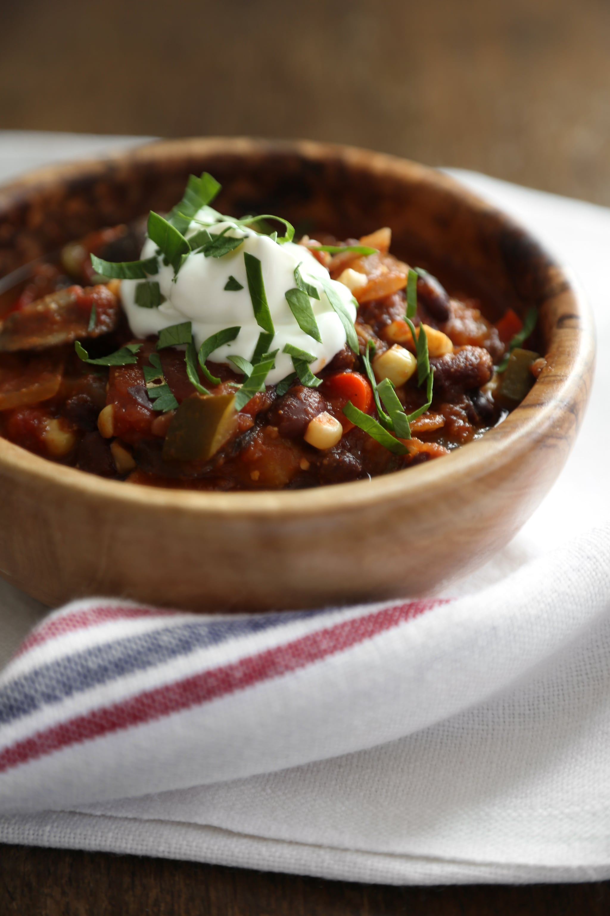 Chili is pretty much a given on game day, especially when it's a no ...
