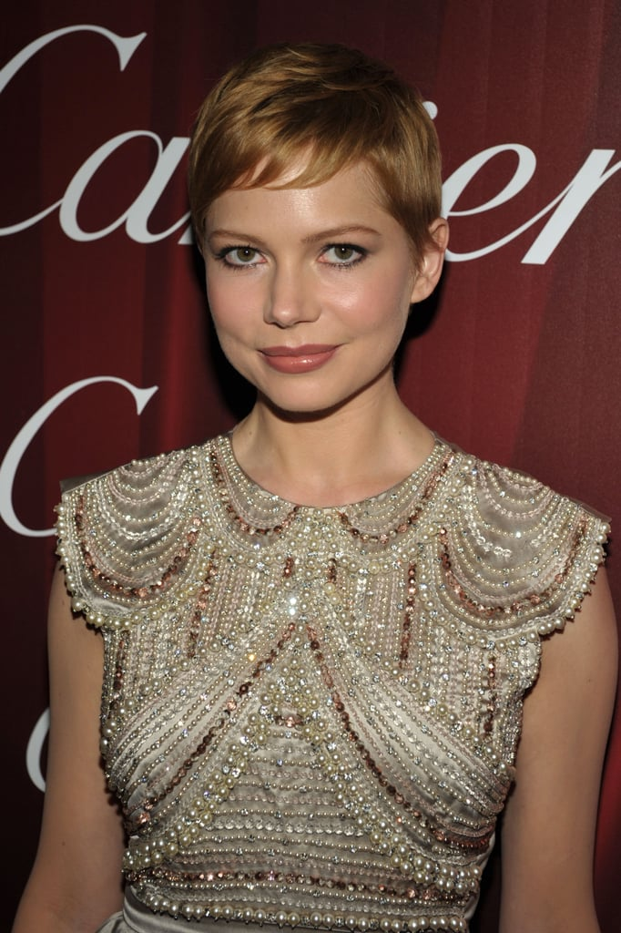 Michelle Williams Debuts a Reddish Hue at the Palm Springs Film Festival