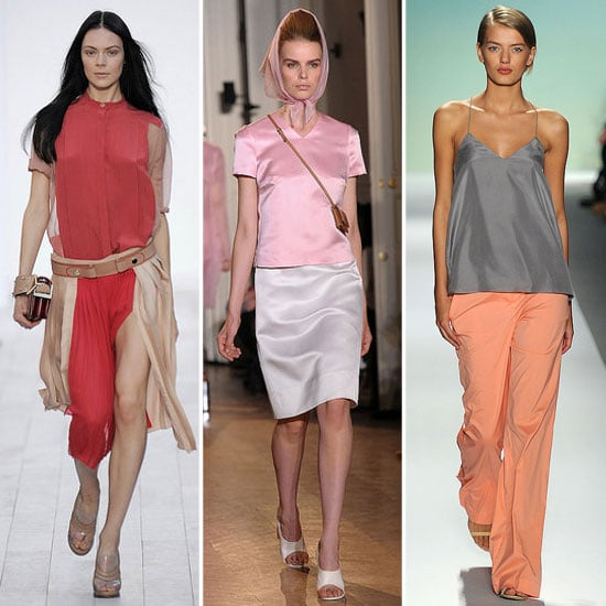 Spring 2012 Cool Colour Combo: Pink + Neutral