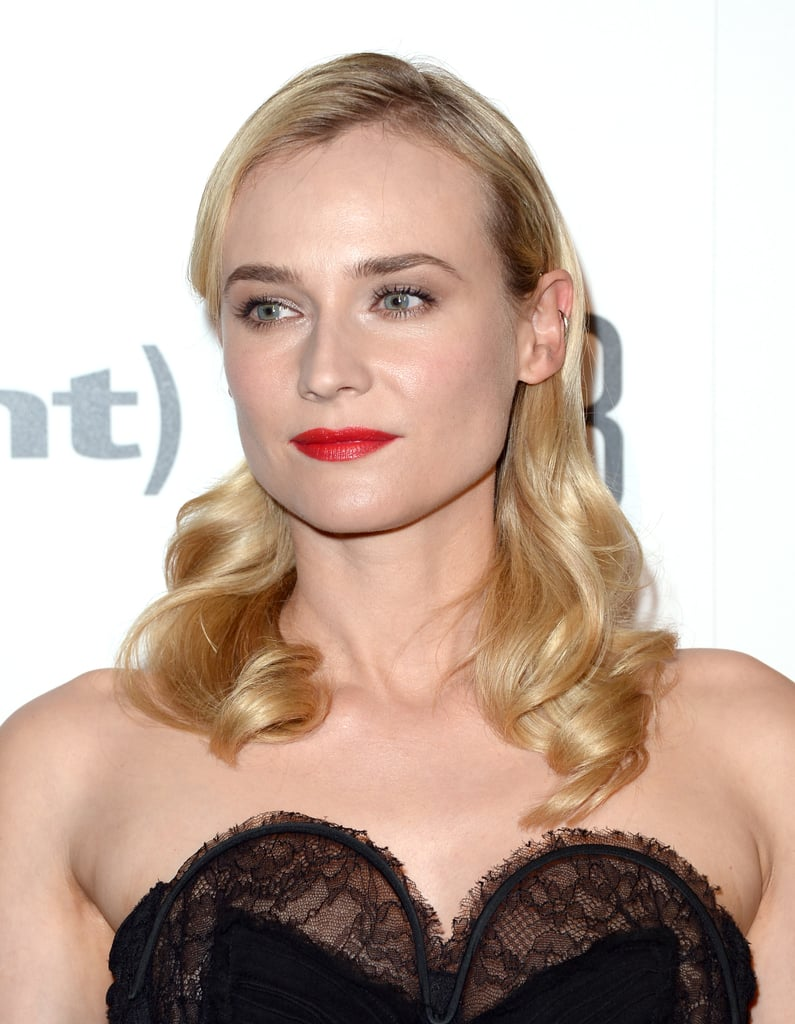 See Diane Kruger's Smooth Curls From All Angles