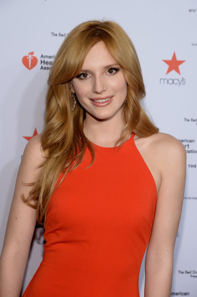 Bella Thorne at the Red Dress Show