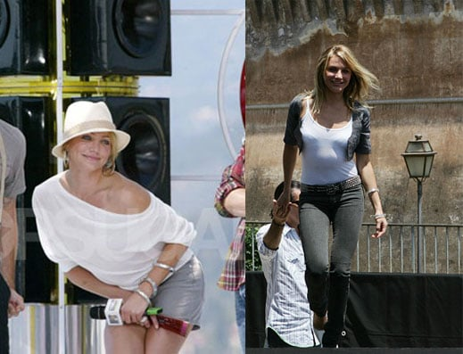 Celebrity Style: Cameron Diaz Times Two