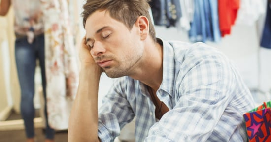 11 Times We Were All These Miserable Men Shopping