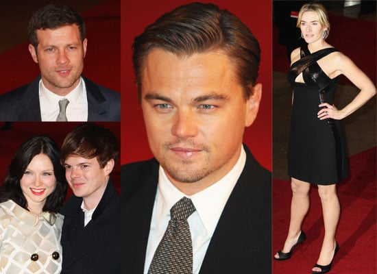 Photos From UK Revolutionary Road Premiere Featuring Kate Winslet, Leonardo DiCaprio, Dermot O'Leary, Sophie Ellis-Bextor, etc.