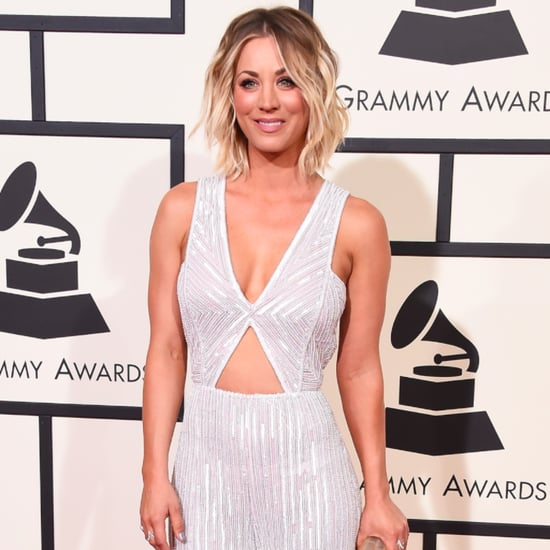 Kaley Cuoco's Jumpsuit at Grammys 2016