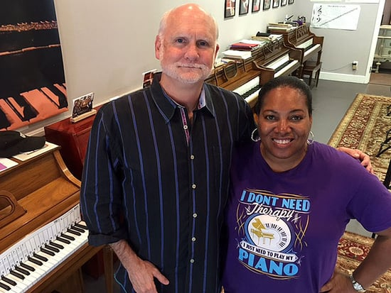 Loss of Son Moves a Father to Give Away Pianos and Share Gift of Music that Inspired Them Both