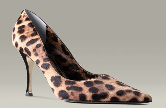 Guess Who Designed These Leopard Pumps?