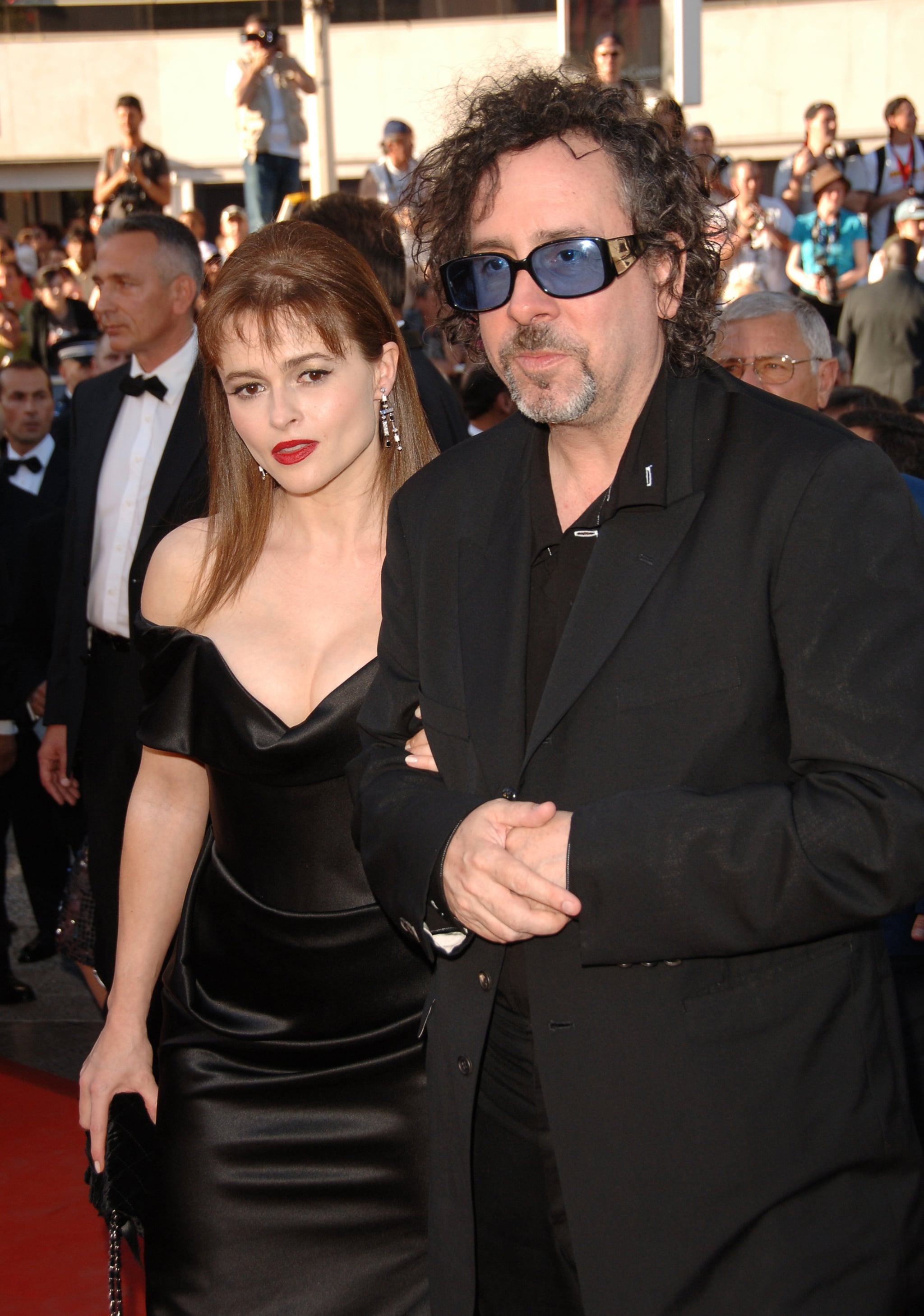 Helena Bonham Carter and Tim Burton in 2006