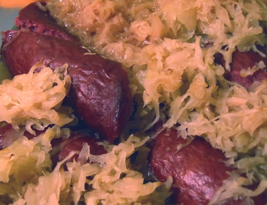 Simple and Hearty Sauerkraut With Sausages