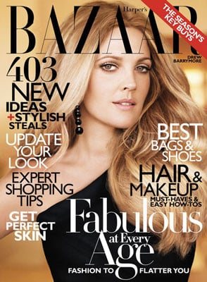 How to Get Trendy Ombré Hair Color Like Drew Barrymore's at Home