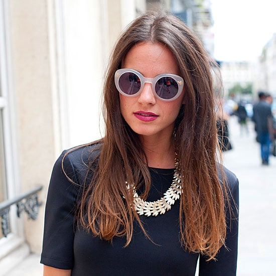 52 Best Accessory Trends Culled from Street Style Snaps: Round Sunglasses, Two Strap Heels, Clutch Bags and more!