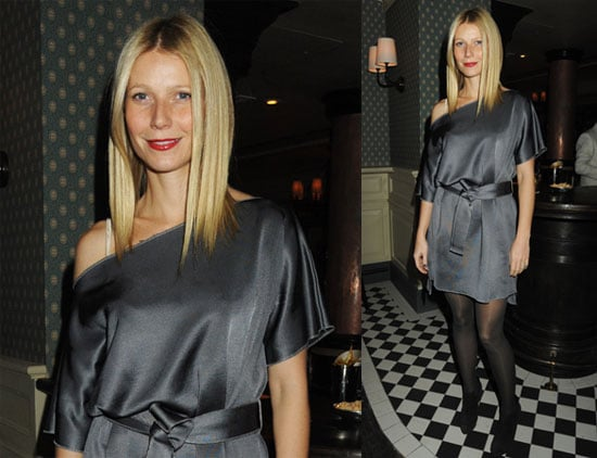 Photos of Gwyneth Paltrow Out in London For the Dean Street Townhouse Launch 2009-11-24 16:30:00