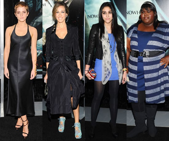 Photos of Celebrities at the New York Premiere of Harry Potter and the Deathly Hallows